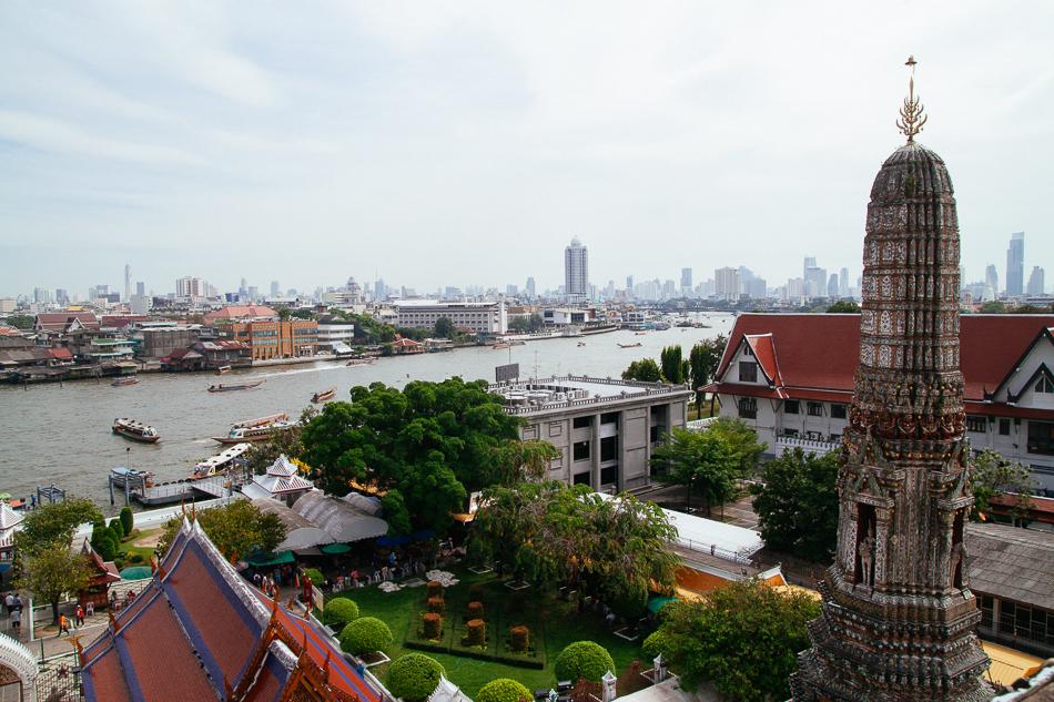 Wat Arun - Chao Phraya View