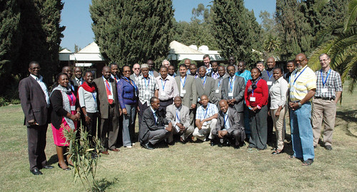 Participants at a workshop on developing a livestock identification and traceability system for the IGAD region