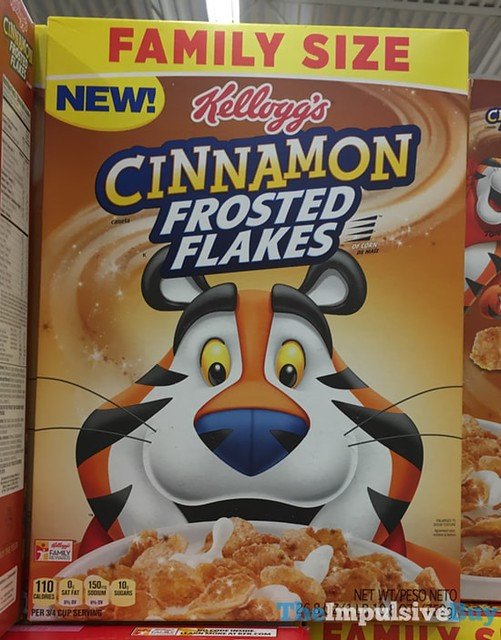 Kellogg's Cinnamon Frosted Flakes Cereal