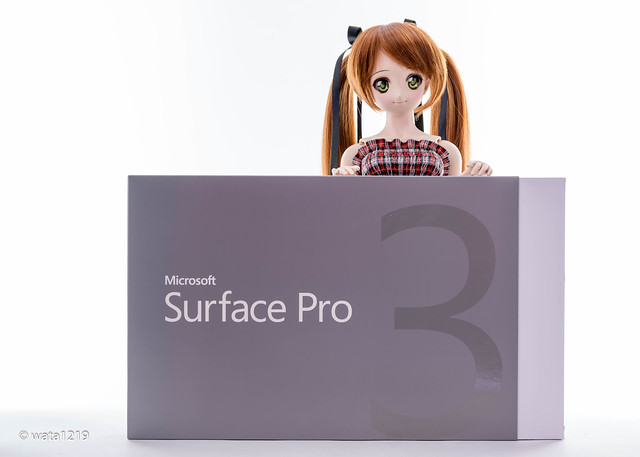 [DDS] Mayu and SurfacePro3 (1)