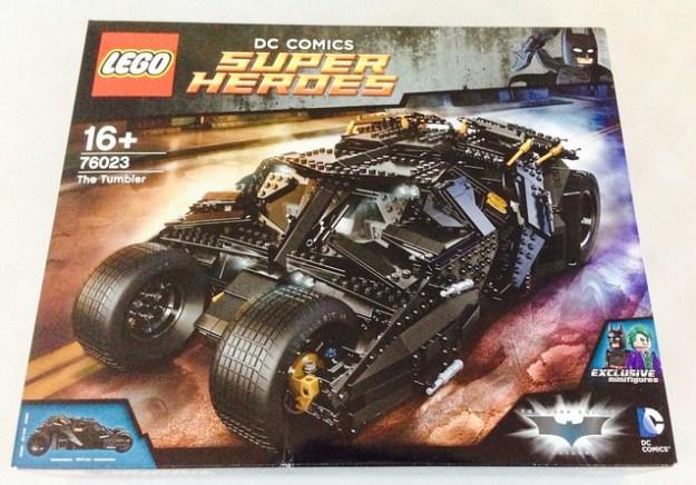 LEGO Tumbler Box Art