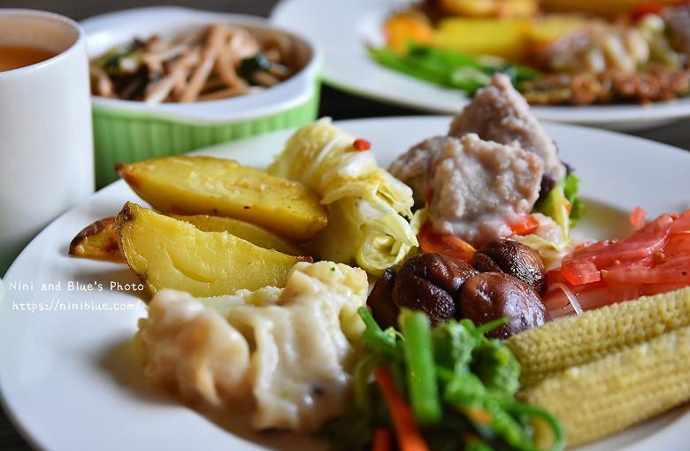 台中健康蔬食陶然左岸20