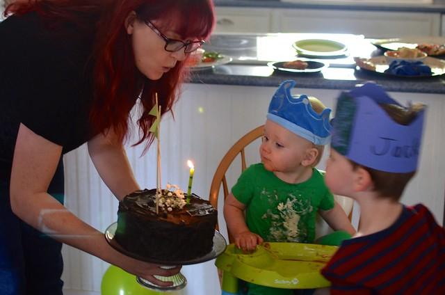 Sam's First Birthday