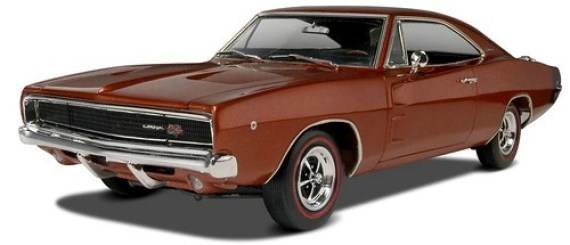 28 Revell 1968 Dodge Charger R-T