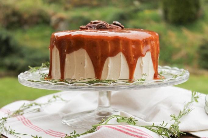 Recette layer cake à la banane
