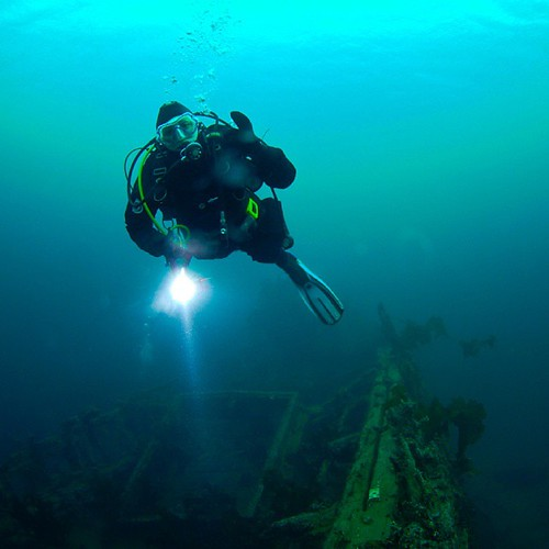 Op de blog! Die keer dat ik op de Belgica ging duiken... Link in profiel.