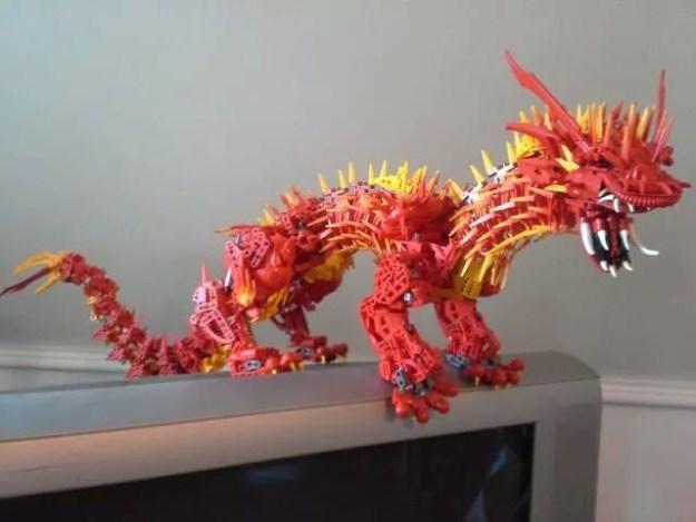 The feiry Blastous Dragon