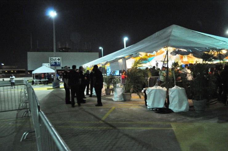 IIFA Green Carpet Security at Tampa International Airport, April 23, 2014