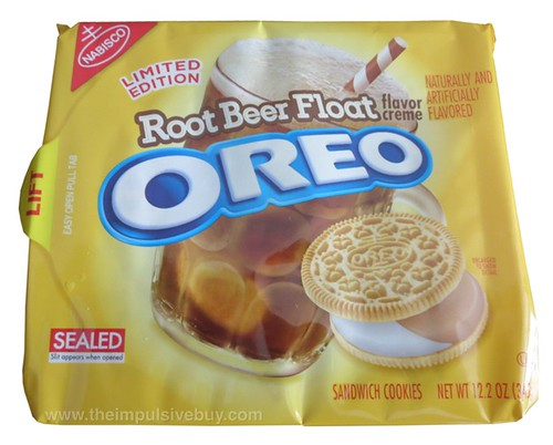 Nabisco Limited Edition Root Beer Float Oreo Cookies