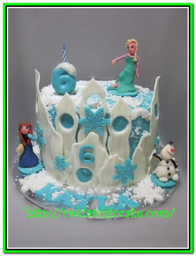 Kue Ulang Tahun Frozen The Disney Kayla Jual Kue Ulang