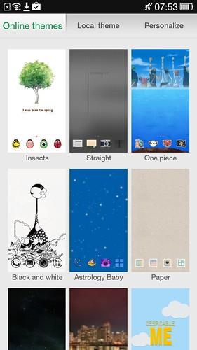 สร้างความแตกต่างให้กับ Oppo N1 Mini ของคุณได้ ด้วยธีมต่างๆ
