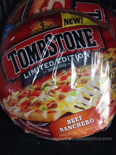 Tombstone Limited Edition Beef Ranchero Pizza