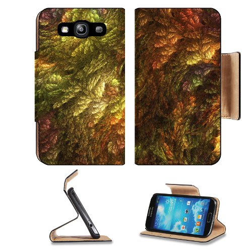 Abstract Artistic Mixture Colorful Pattern Samsung Galaxy S3 I9300 Flip Cover Case with Card Holder Customized Made to Order Support Ready Premium Deluxe Pu Leather 5 inch (132mm) x 2 11/16 inch (68mm) x 9/16 inch (14mm) Luxlady S III S 3 Professional Cas