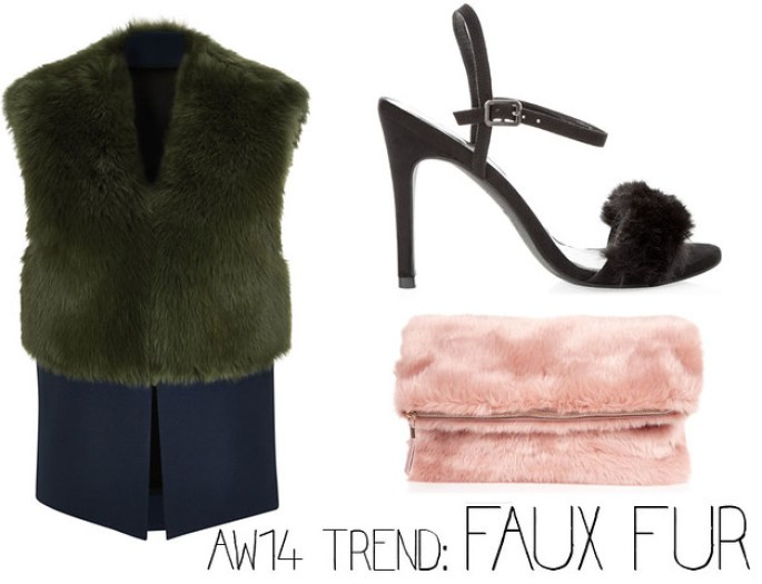aw14 trends faux fur