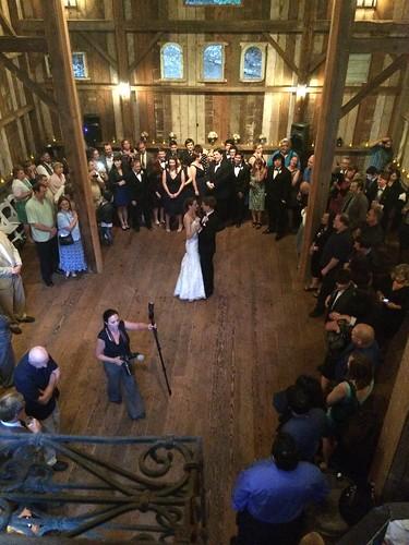 Matt and Katie's first dance