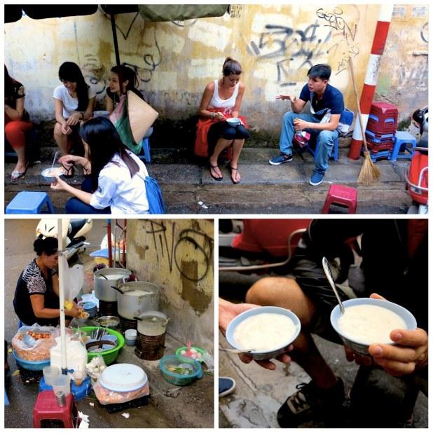 Comida vietnamita en Hanoi