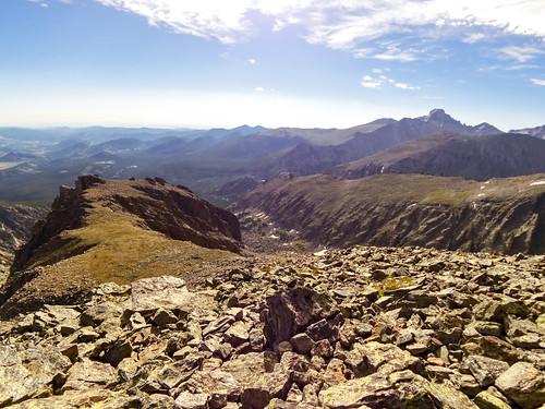 View from Hallett Peak