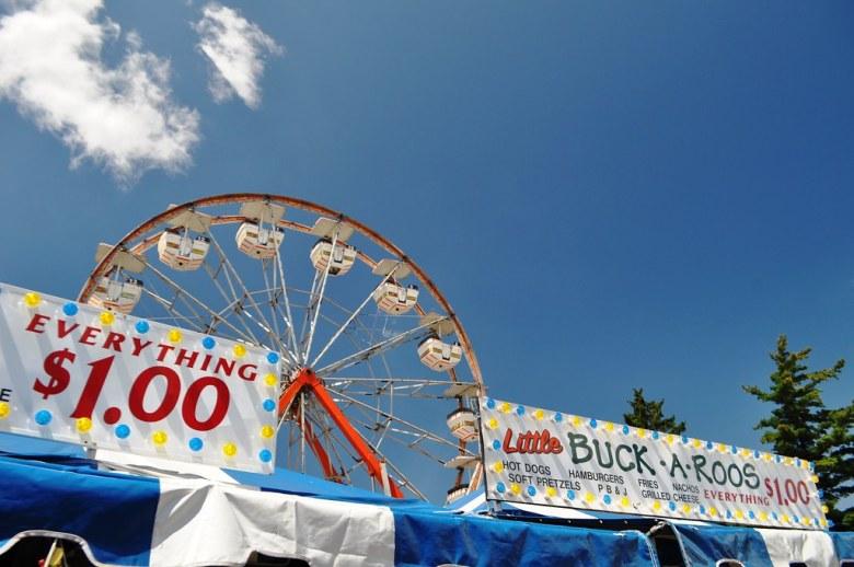 Everything $1 at Little Buck-a-Roos - Erie County Fair, Hamburg, N.Y., Aug. 10, 2014