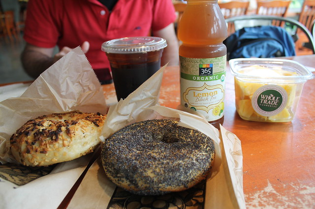 Comer en Boston: Bagels en Whole Food Market