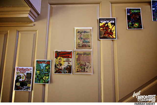 The Art of Comic Books Mansion at Strathmore Brightest Young Things Farrah Skeiky 29