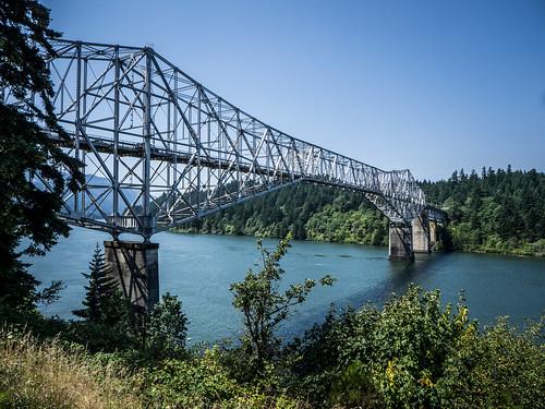Bridge of the Gods over Columbia River