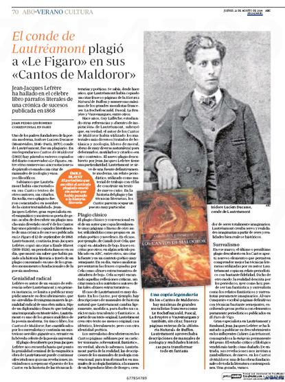 14h21 Lautréamont plagiario