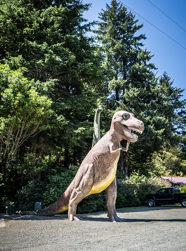 T-Rex at Prehistoric Garden