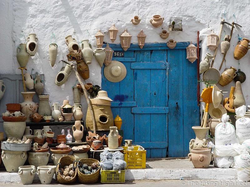 Cute, ein Laden in Tunesien