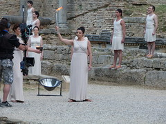 2012 - Olympie allumage flamme olympique