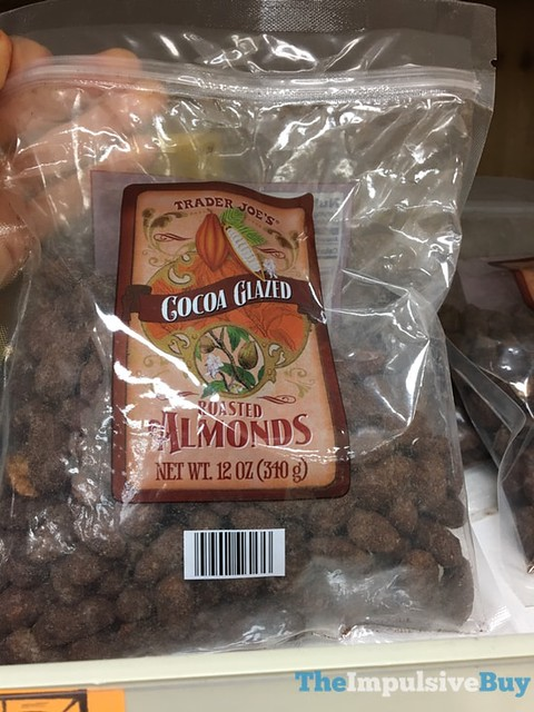 Trader Joe's Cocoa Glazed Roasted Almonds