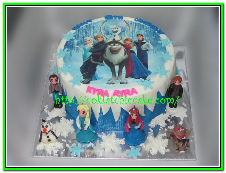 Kue ulang tahun Frozen   KYRA Jual Kue Ulang Tahun