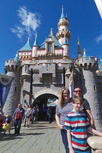 Cinderella's Castle at Disneyland
