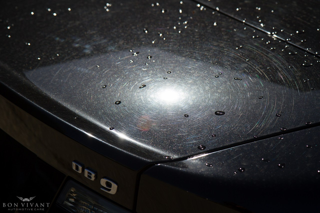 Aston Martin swirls