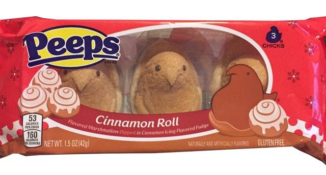 Cinnamon Roll Peeps