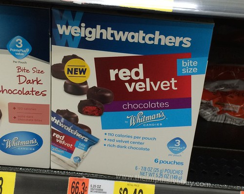 Weight Watchers Red Velvet Chocolates