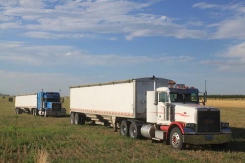Truck lineup.