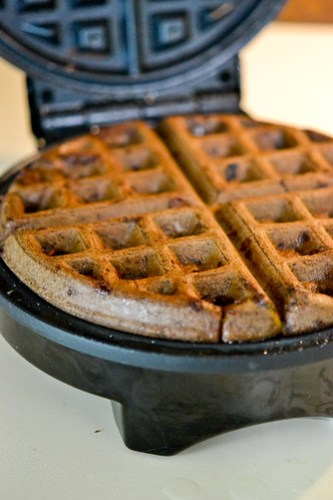 Dark Chocolate Waffles-9