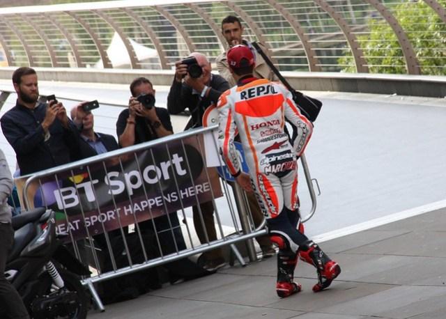 2014 BT Sport / Marc Marquez PR Stunt in London