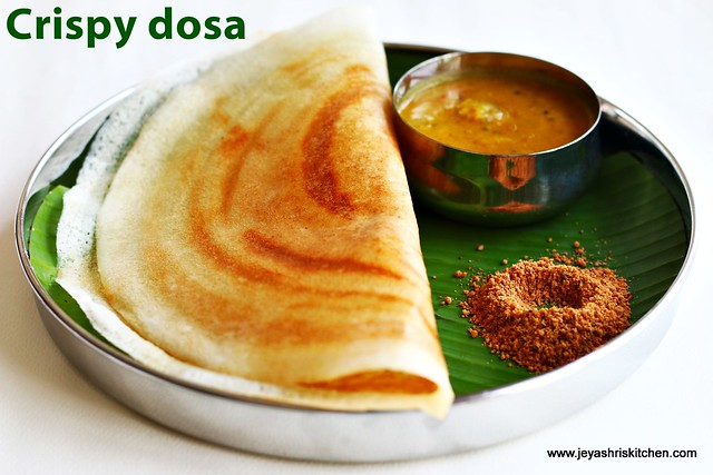 Dosa batter recipe  how to make crispy dosa south indian