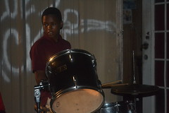 482 Young Drummer