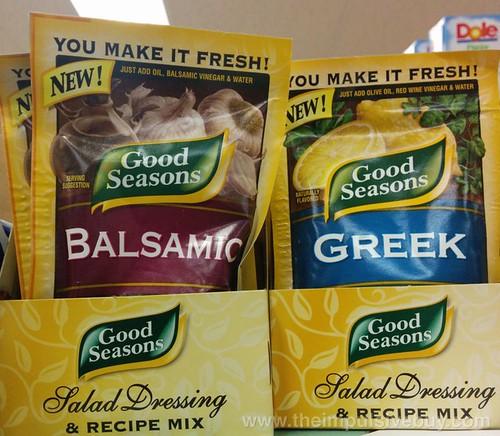 Good Seasons Balsamic and Greek Salad Dressing Mix
