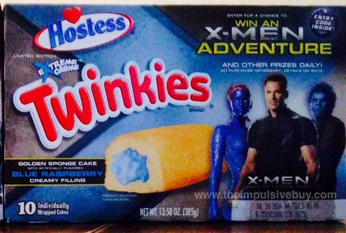 Hostess Blue Raspberry Twinkies