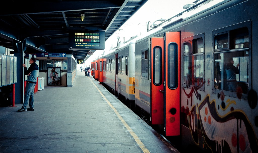 Train Station in Brussels