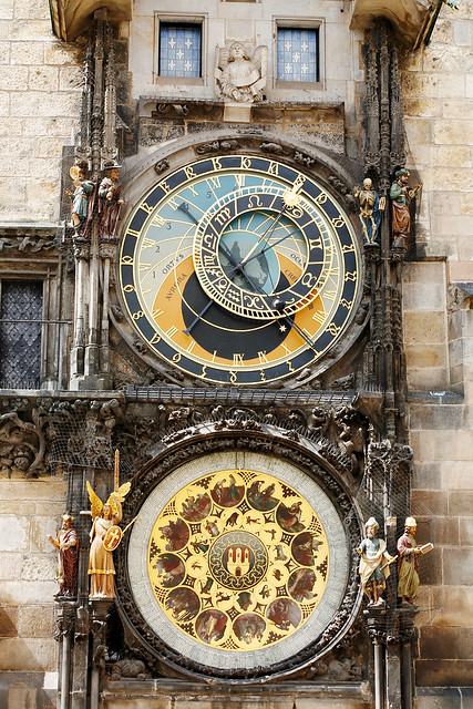 Astronomical Clock, Old Town Square, Prague.
