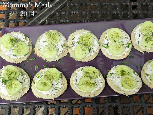 Cucumber Sandwiches 2