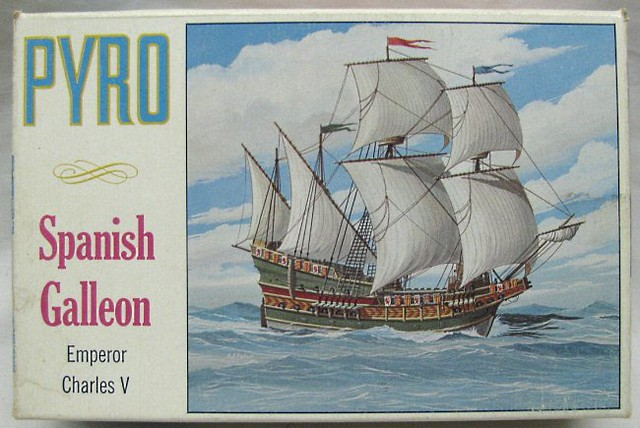 Spanish Galleon Pyro