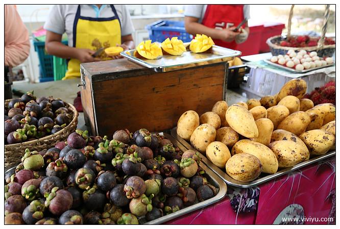 [泰國羅勇]Suphattra Land (Rayong羅勇素啪他觀光果園)~熱帶水果隨你吃到飽 @VIVIYU小世界