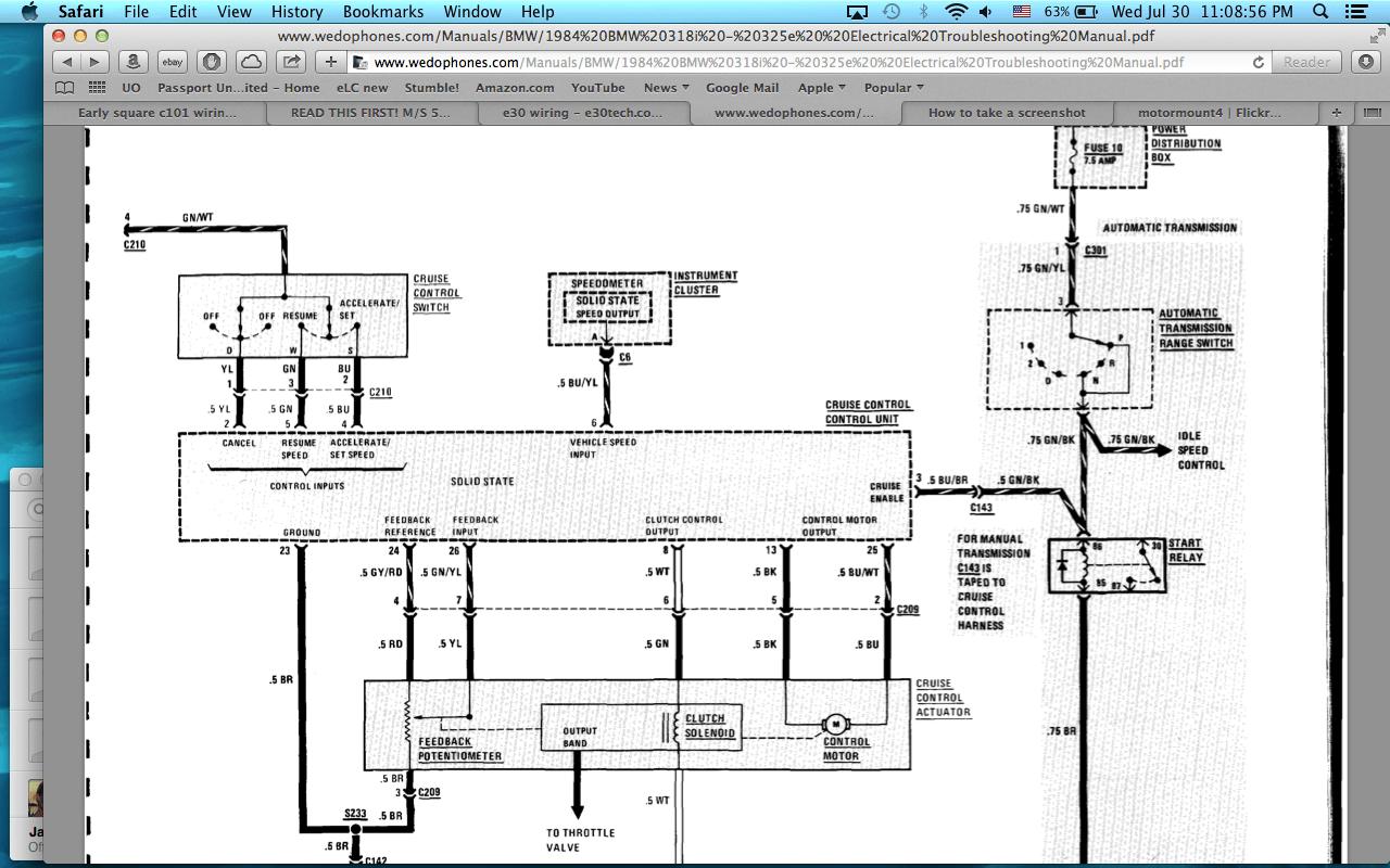 e30 m50 wiring diagram 2008 dodge nitro engine 84 swap speedo not working through c3 or c6