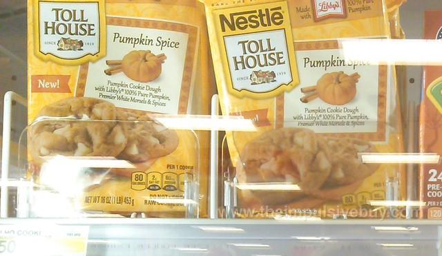 Nestle Toll House Pumpkin Spice Cookie Dough