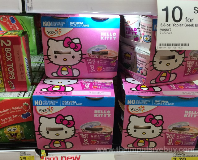 Yoplait Hello Kitty Yogurt